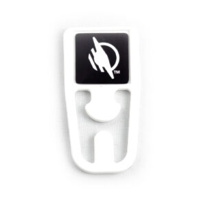 On-Metal WayClip from the top. The WayAround logo is displayed at the top of the clip.
