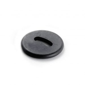 Waytag Oval Hole Button from above.